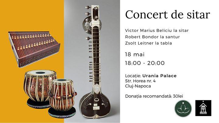 Concert De Sitar Cu Victor Marius Beliciu Clujcom