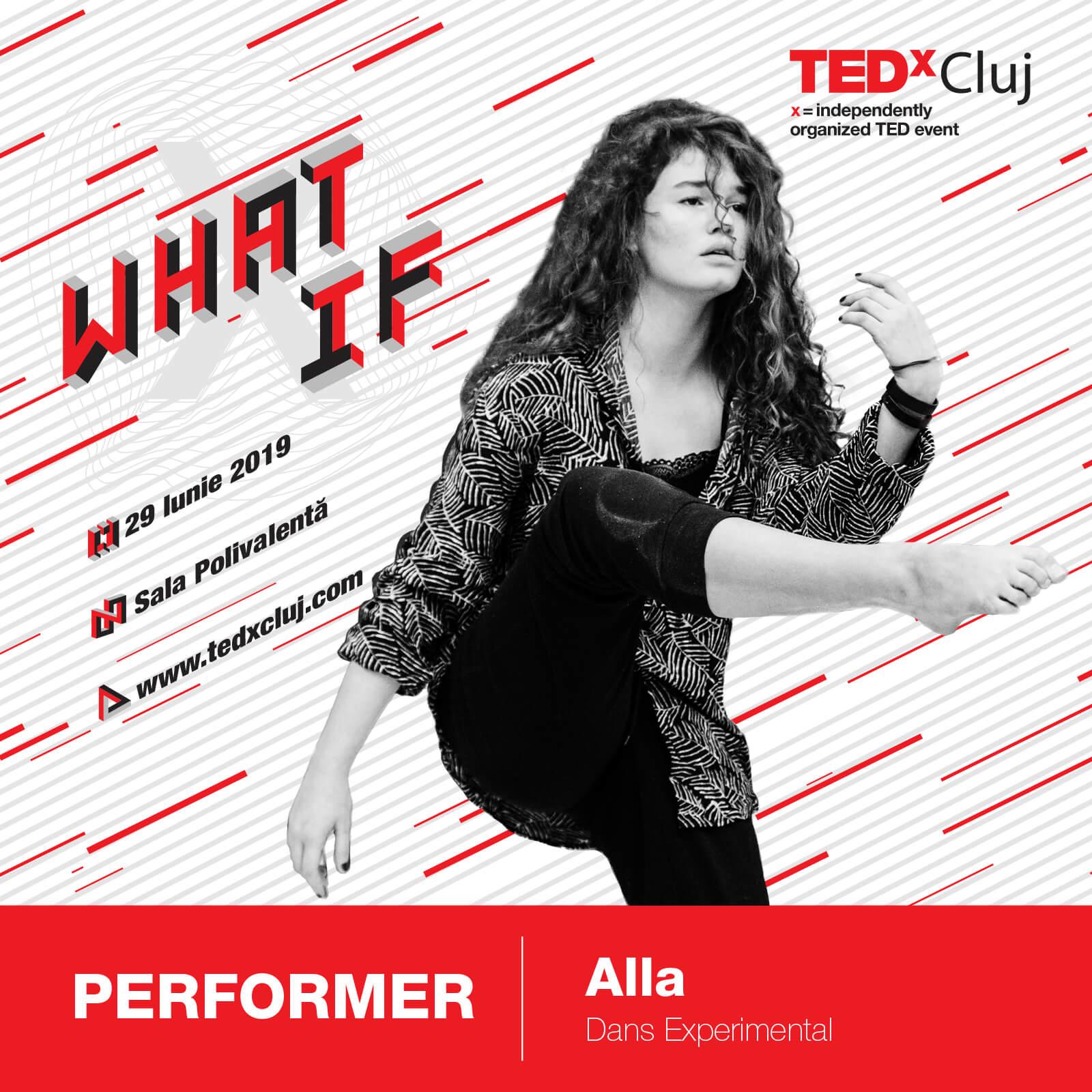 Alla TEDxCluj 2019