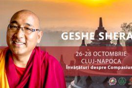 Geshe Sherab la Cluj Napoca