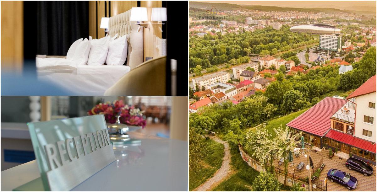 """Hoteluri în Cluj: câteva imagini din ,,interior"""""""