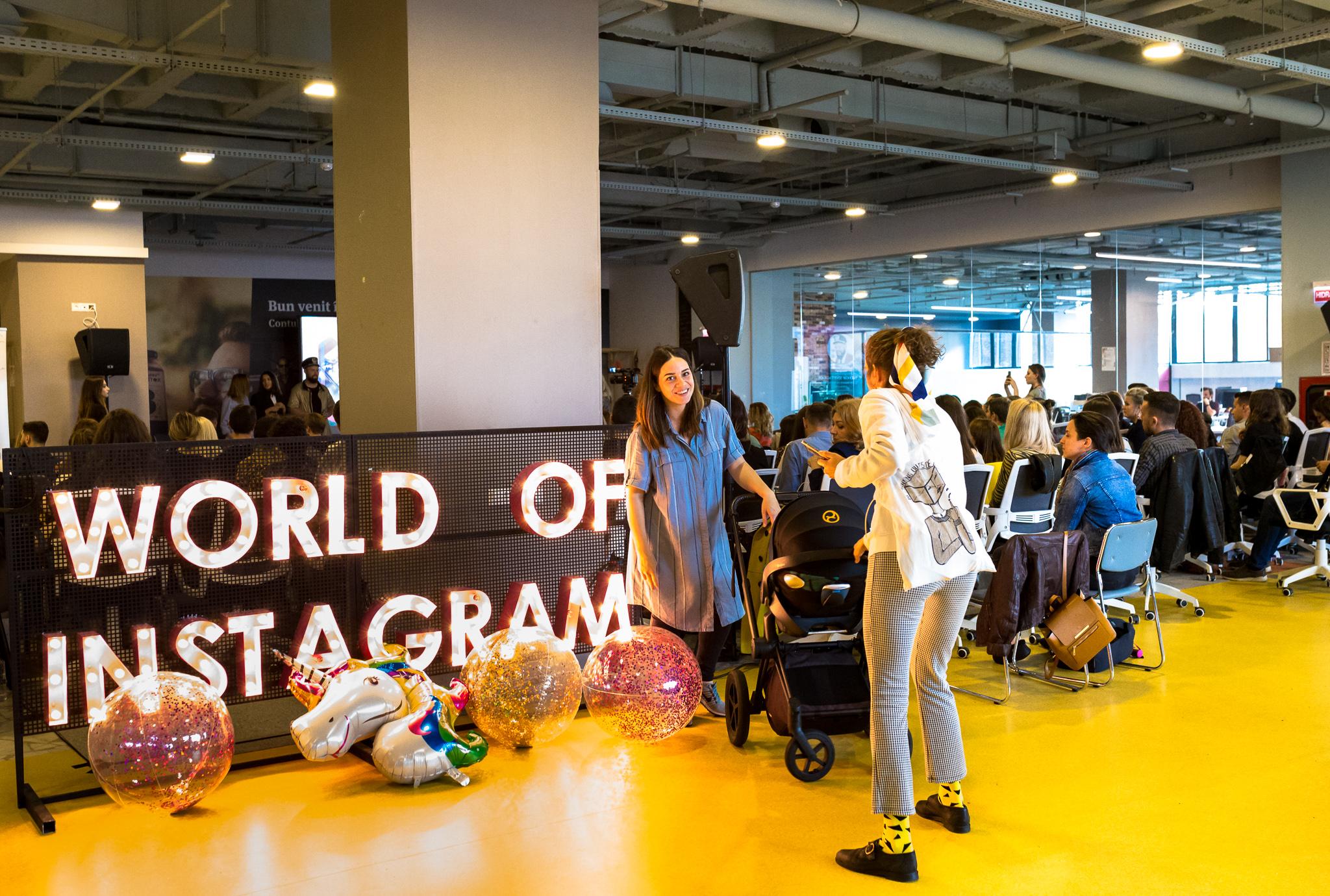Conferința World of Instagram