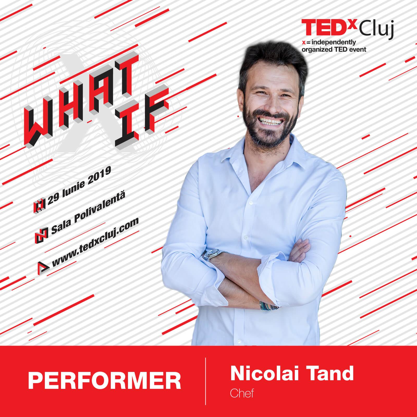 Nicolai Tand TEDxCluj 2019