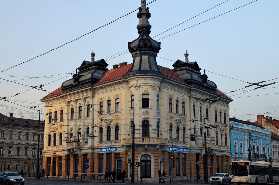 Palatul Babos Palate in Cluj