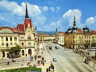 Palatul Babos din Cluj – un spațiu comercial al Clujului de altădată