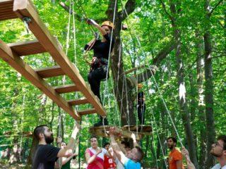 Team Building-uri de aventură | Sezon de vară la Adrenalin Park