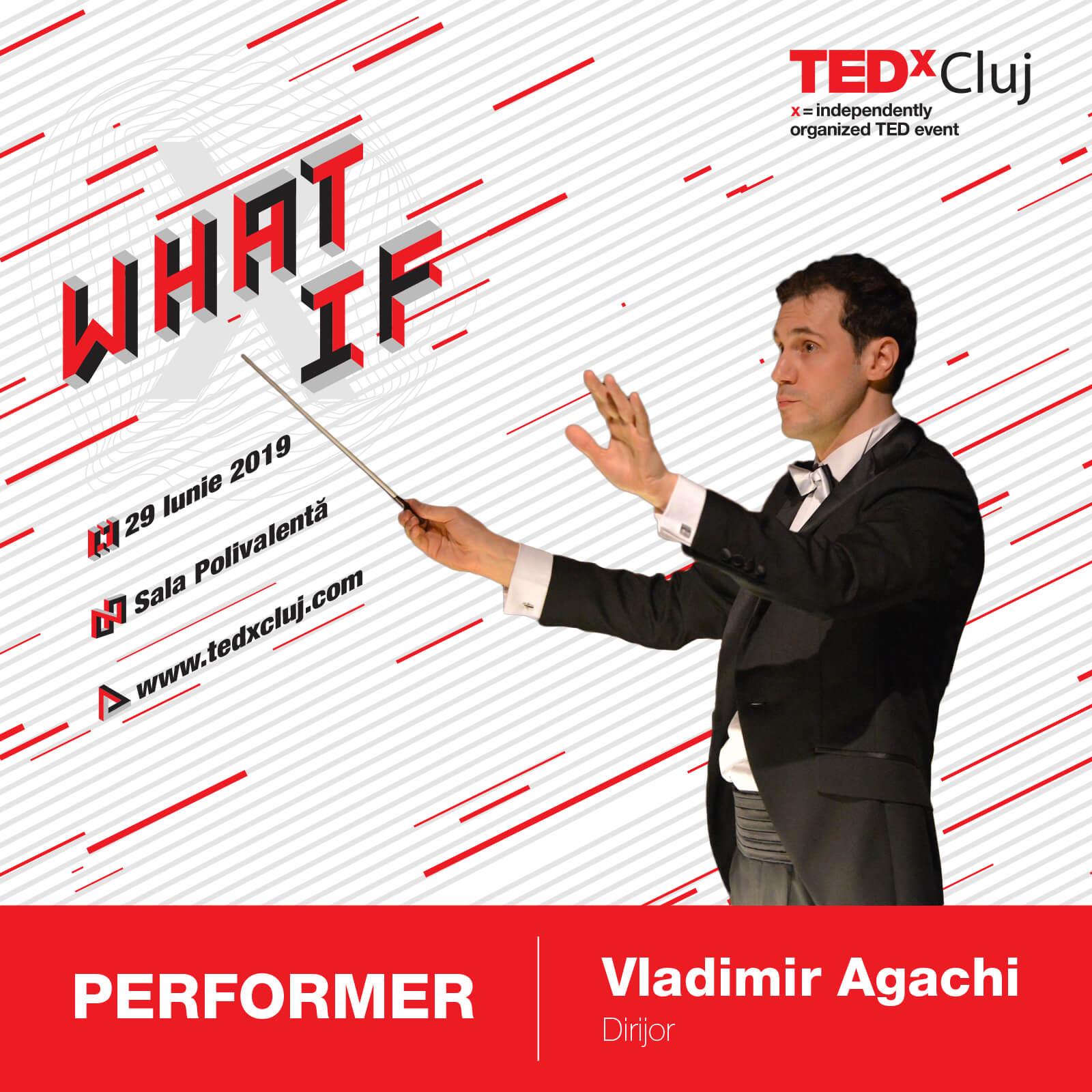 Vladimir Agachi TEDxCluj 2019