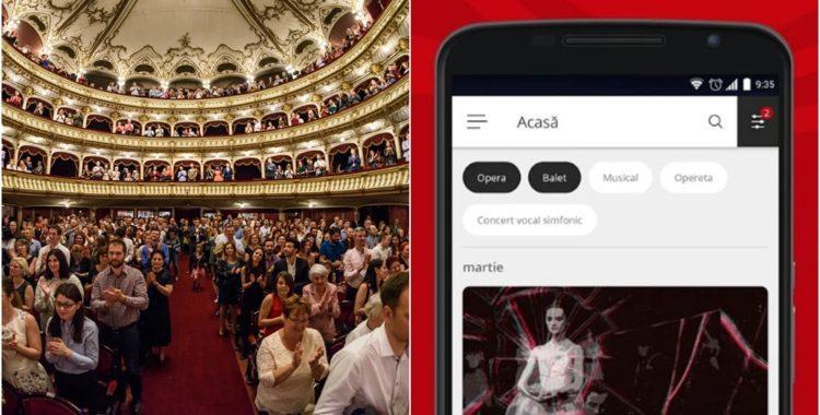 aplicația de mobil OPERA CLUJ