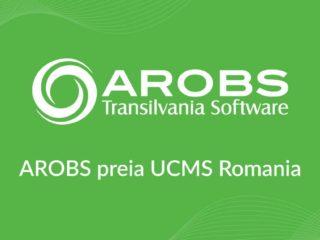 AROBS Transilvania Software achiziționează UCMS Group România, companie specializată în soluții HR