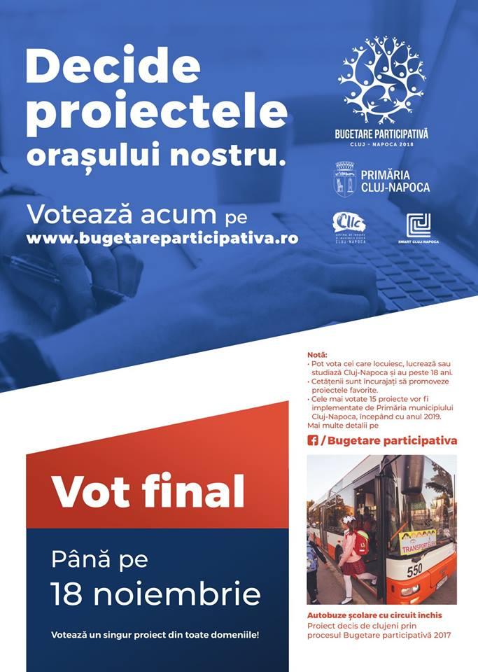 bugetare participativa cluj 2018 nov