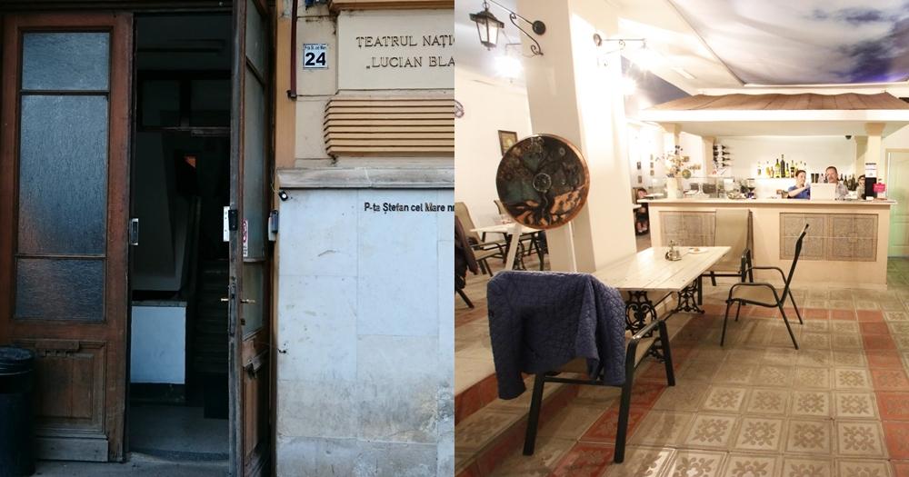 Restaurantul Casa Vega din incinta Operei și Teatrului Național
