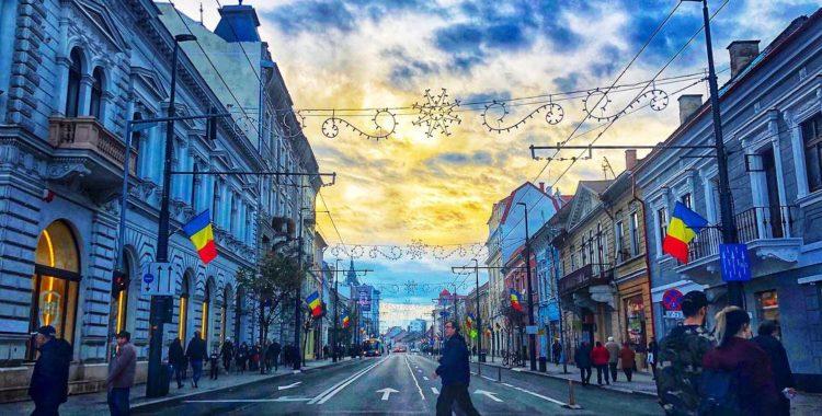 Luna noiembrie în Cluj