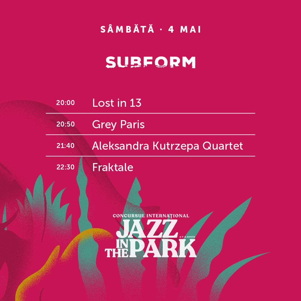 concurs jazz in the park subform