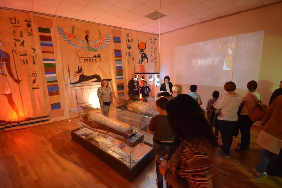 Mumia de la Muzeul de Istorie